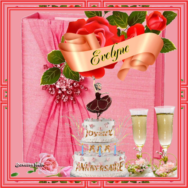 Bon Anniversaire A Mon Amie Evelyne