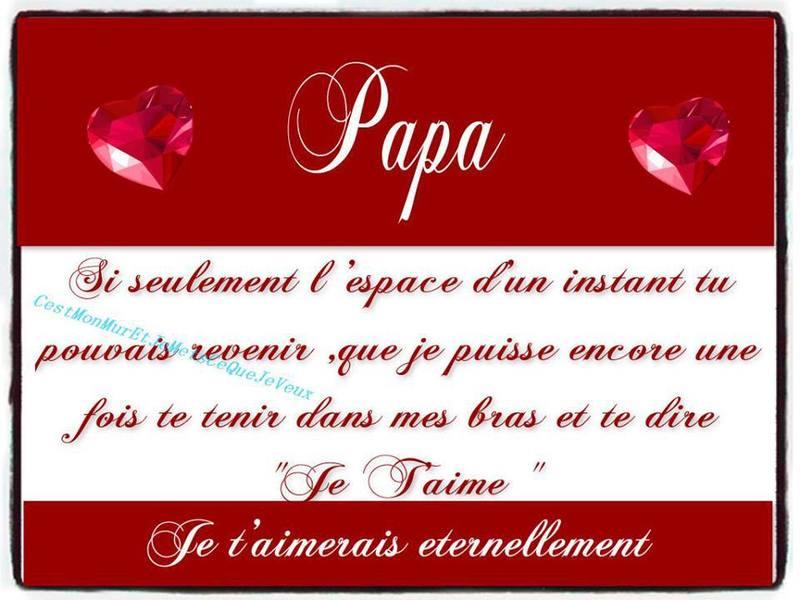 Citations - Poeme anniversaire papa ...