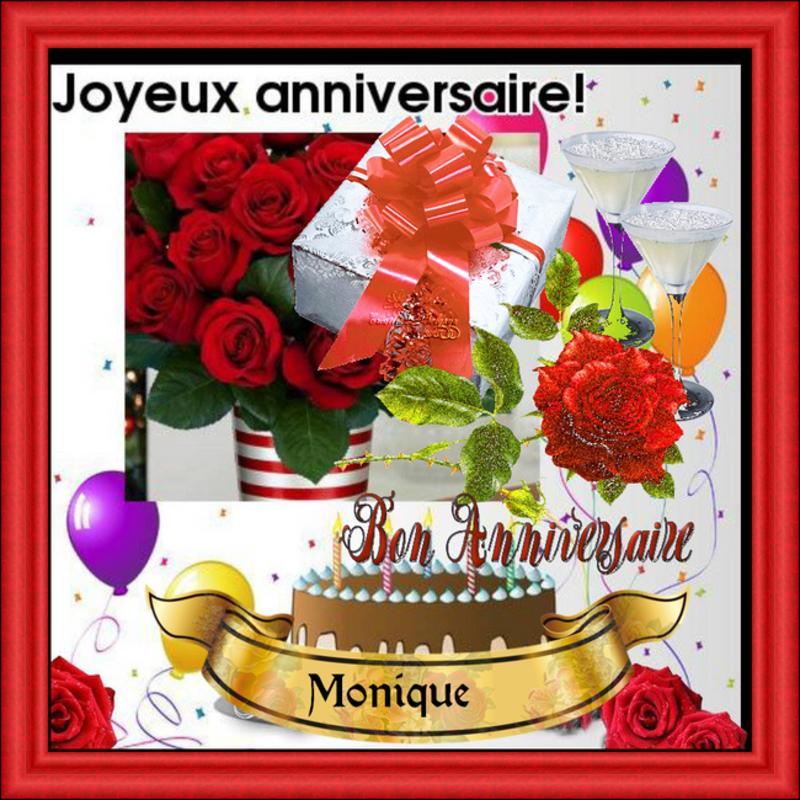 Bon Anniversaire A Mon Amie Monique