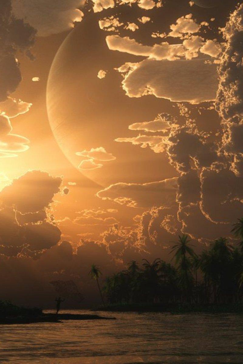 coucher de soleil ( fond écran)